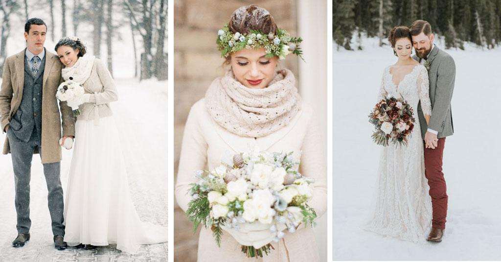 Winterhochzeit brautkleid  Was spricht für eine Winterhochzeit? - Flitterbook