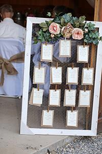 Sitzordnung - Gäste genießen die Hochzeit