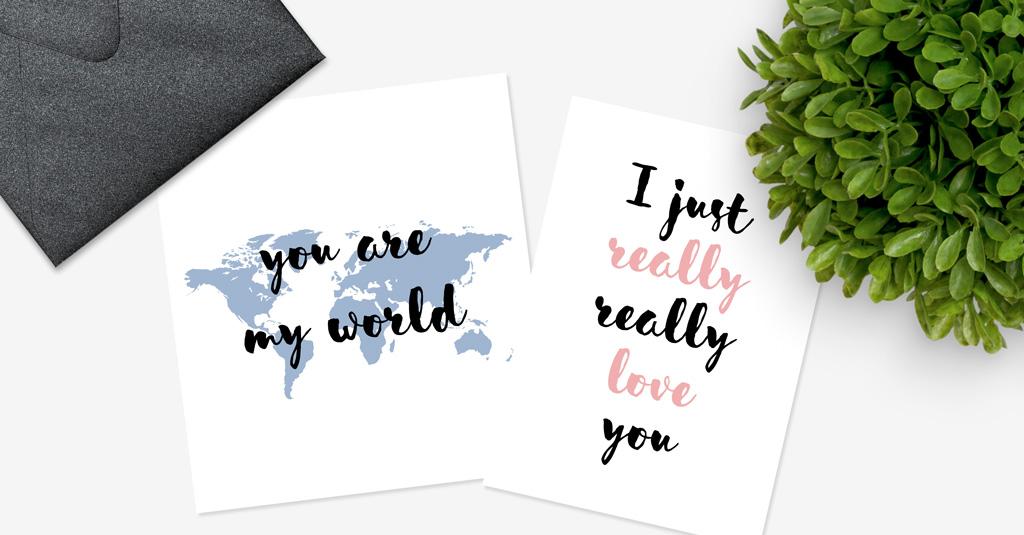 Freebie Postkarten