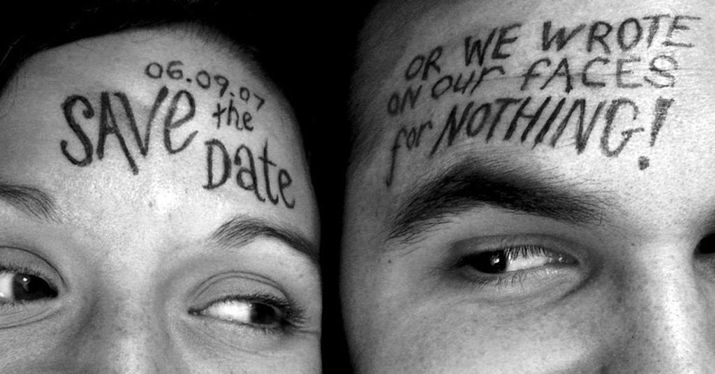 Checkliste Hochzeit - Save the date