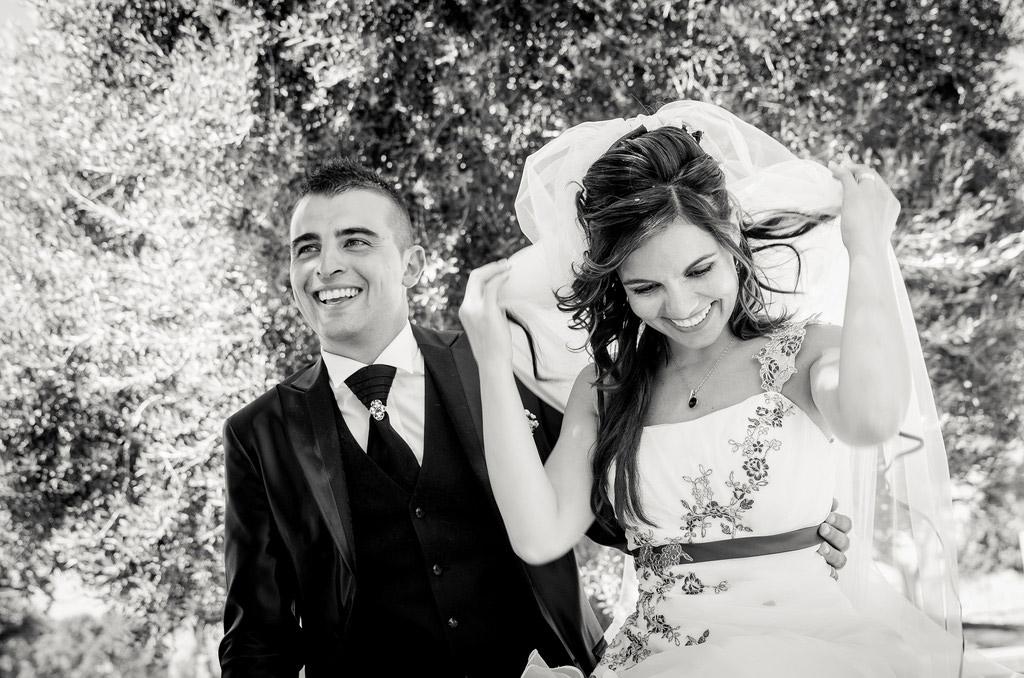 Hochzeitsvideo -Nahaufnahme eines Paares