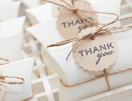 Die schönsten Ideen für persönliche Gastgeschenke