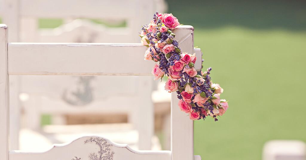 Hochzeitsklassiker - Blumen