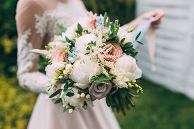 Hochzeitsklassiker - Brautstrauß
