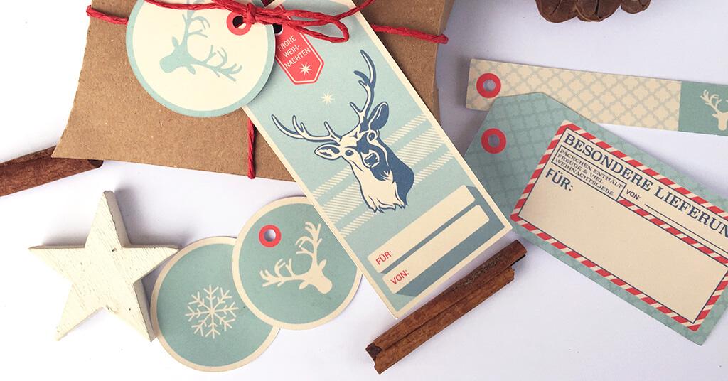 freebie weihnachtliche geschenkanh nger zum ausdrucken flitterbook. Black Bedroom Furniture Sets. Home Design Ideas