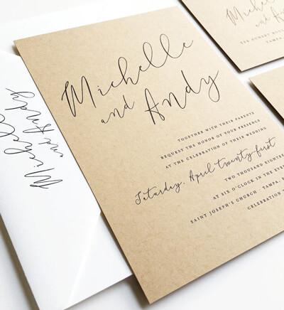 Hochzeit Checkliste: Einladung