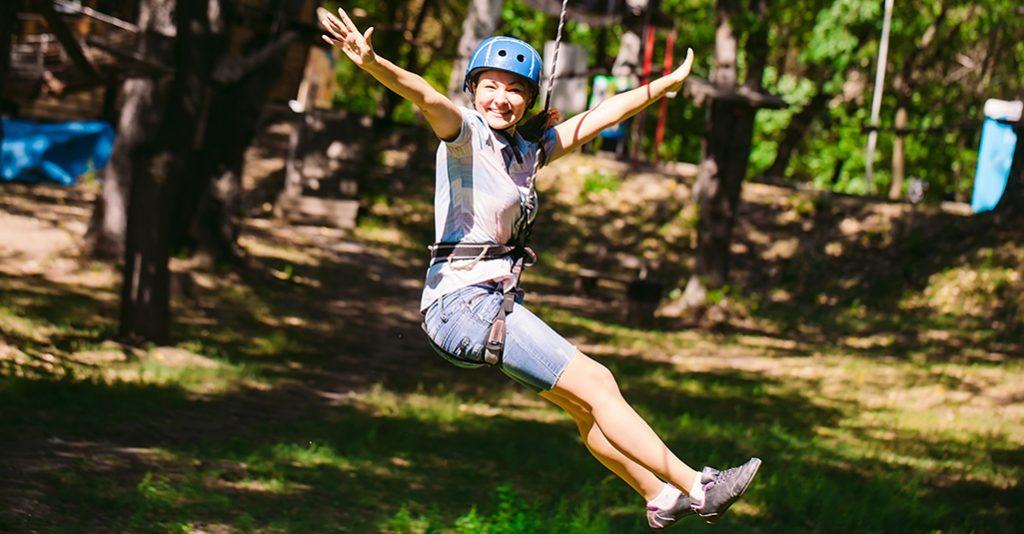 Tipps für den Junggesellinnenabschied - Hochseilgarten