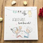 Babytagebuch Hallo Welt Titelbild
