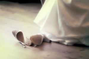 Schwanger heiraten - Brautschuhe