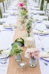 Tischläufer - Hochzeitsdeko