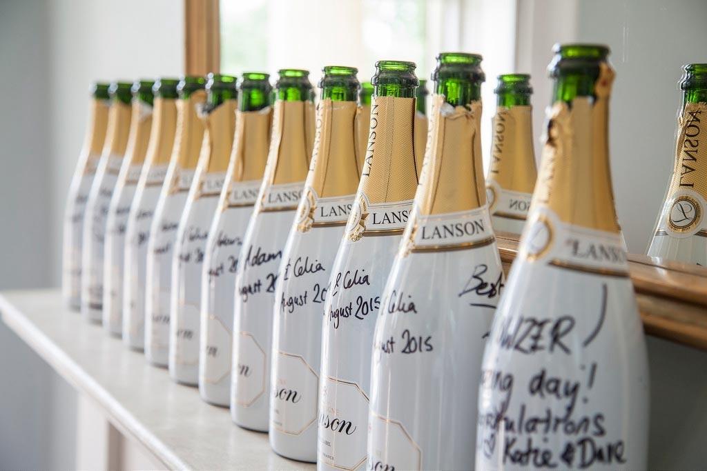 Checkliste Hochzeit - Champagne