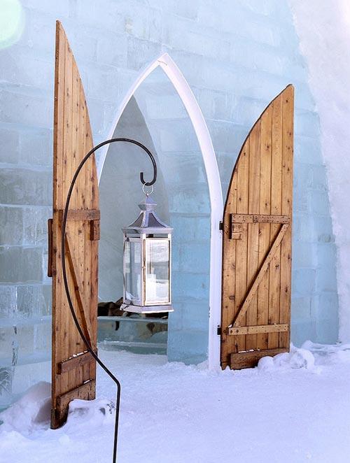 Hochzeit mal anders - Eiskirche