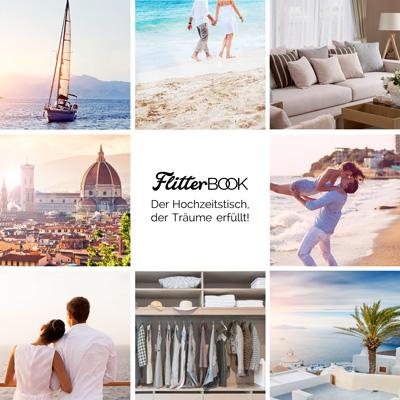 FlitterBOOK-Online Hochzeitstisch Geschenkwünsche