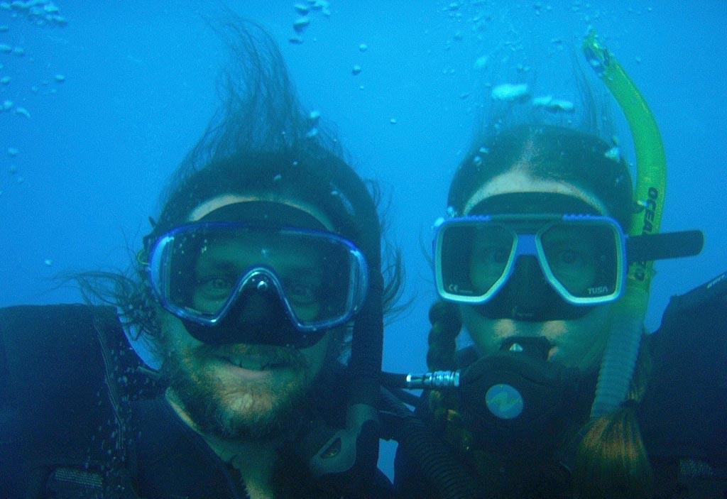 Hochzeit mal anders - Unterwasser
