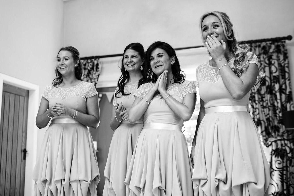 Hochzeitsvideo - Emotionen der Brautjungfern