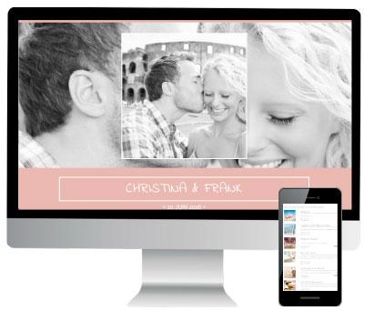 Online-Hochzeitstisch Exklusiv Paket