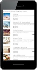Online Hochzeitstisch Beispiel Wunschliste